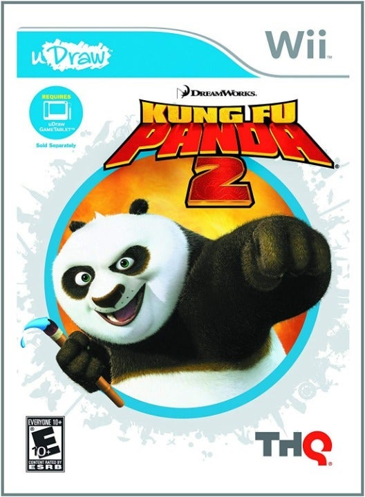 Kung Fu Panda 2 uDraw for  Wii