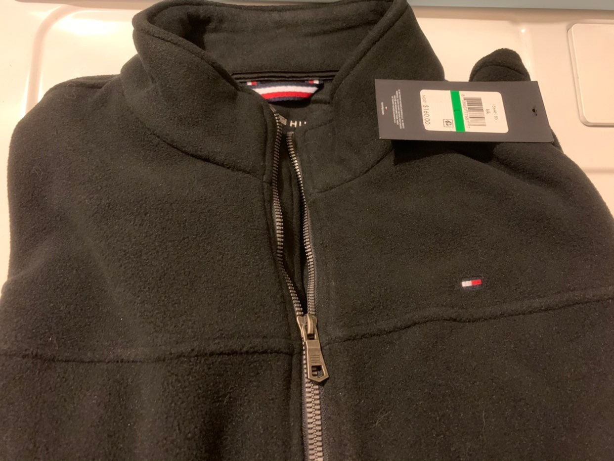 Tommy Hilfiger Zip Front Jacket-sz L