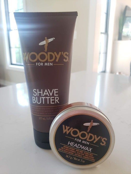 Woody's for Men Shave Butter & Headwax