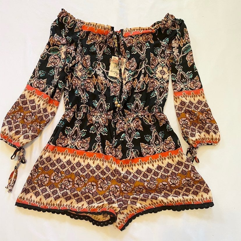 About a Girl Romper