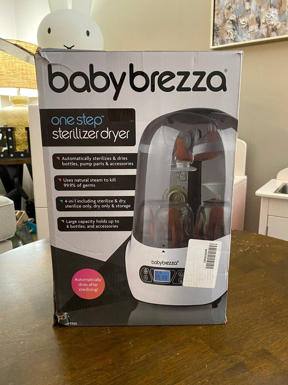 Baby brezza bottle sterilizer and dryer