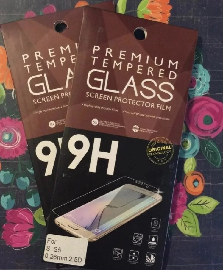 S5 Tempered Glass Screen Protectors (2)