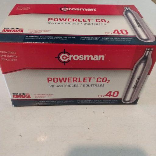 Grossman CO2 cartidges (40 pack).
