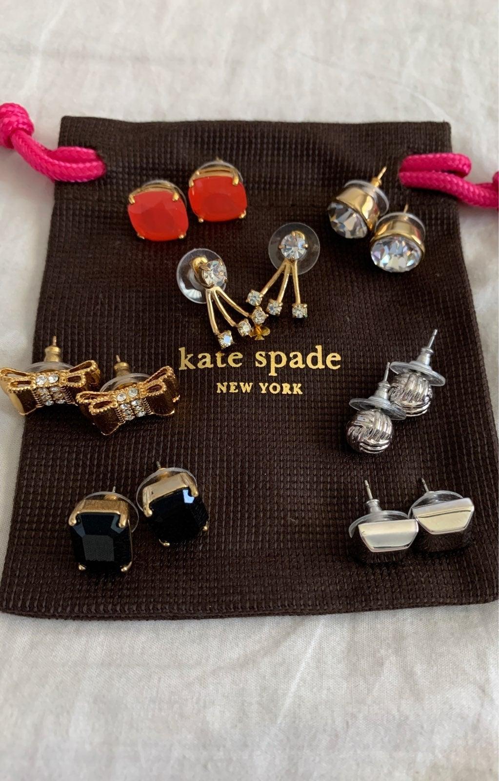 Kate Spade stud earrings bundle