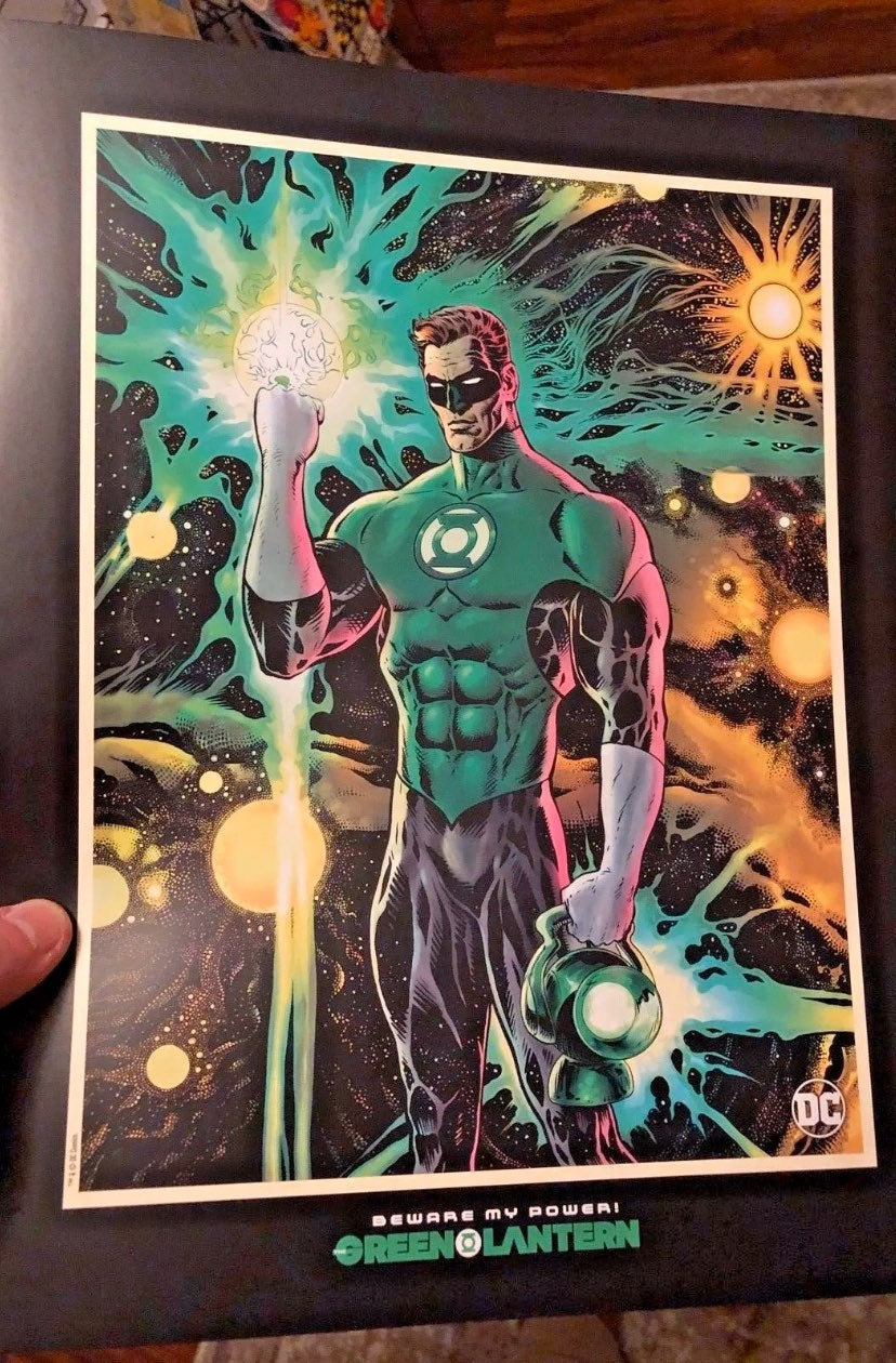 GREEN LANTERN (2019) Retailer Display