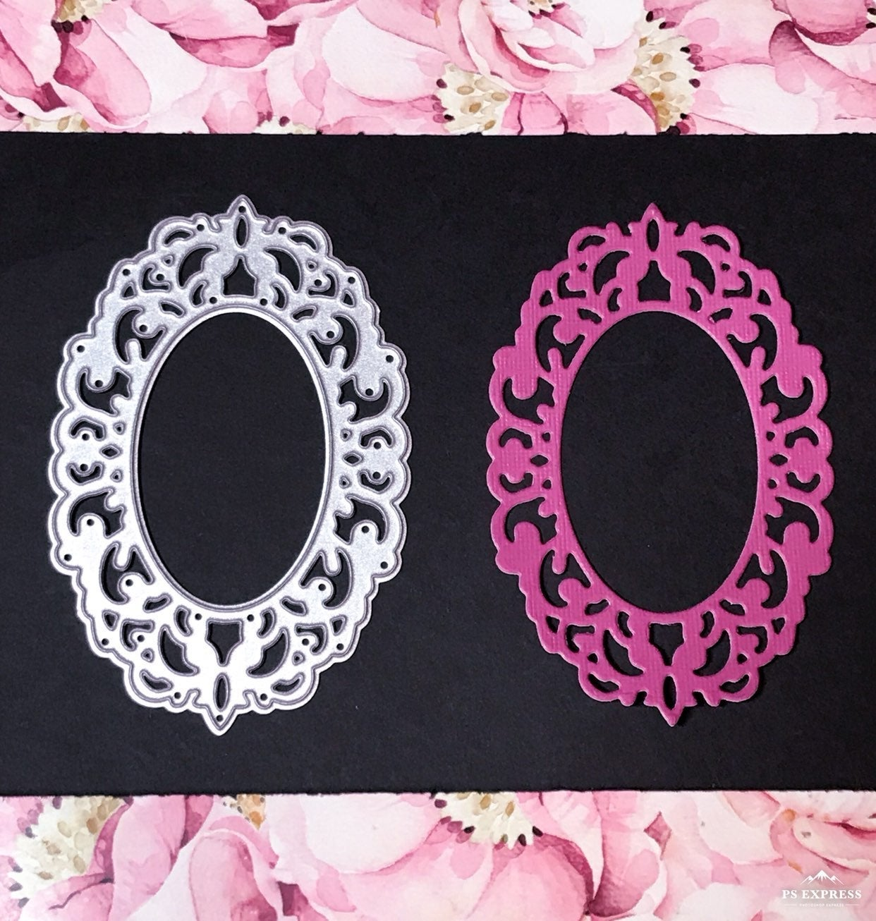 Ornate Frame Metal Cutting Die
