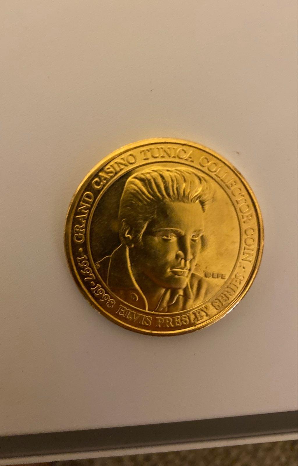 Elvis presley coin