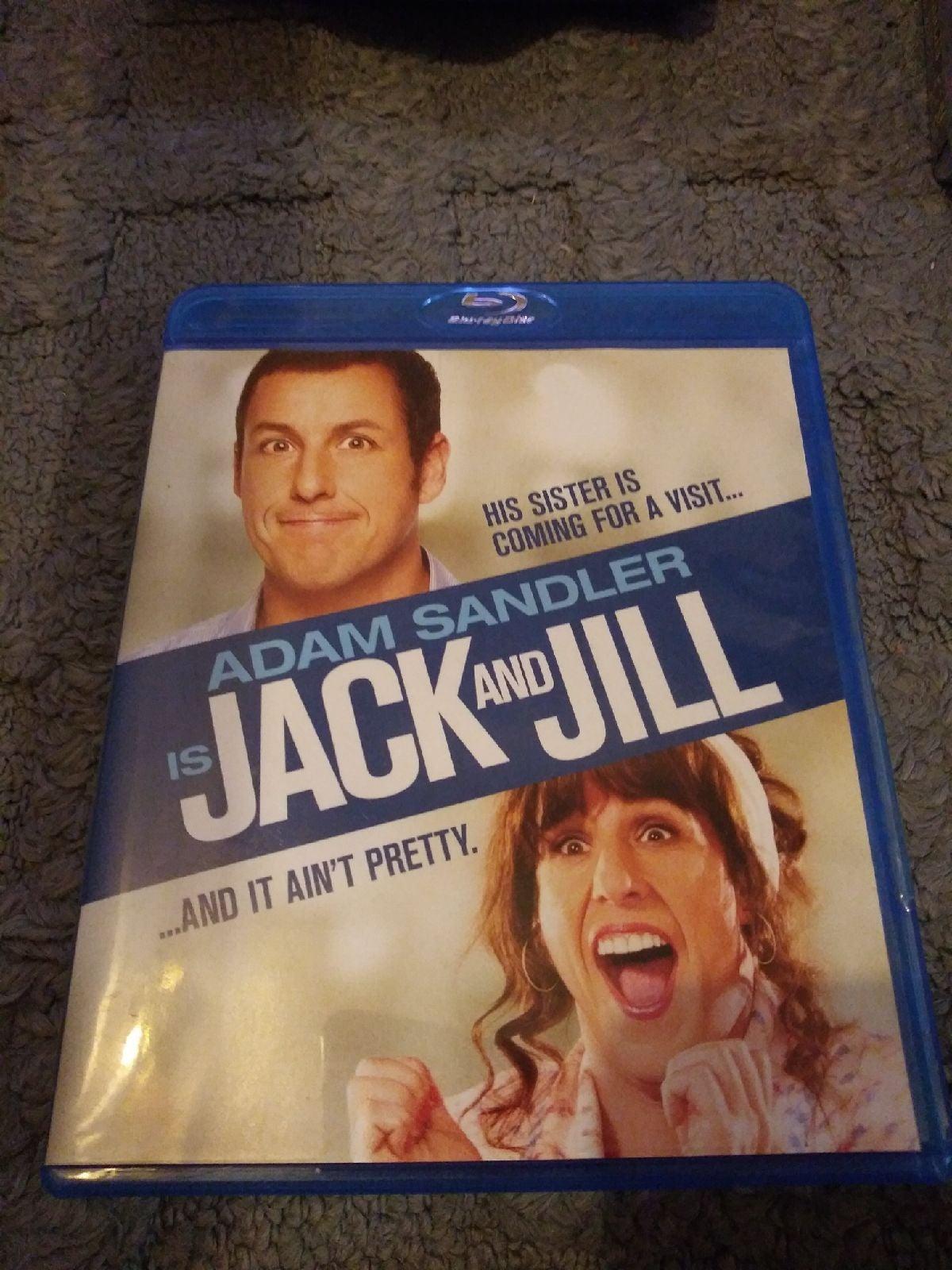 Adam sandler is jack and jill blu ray