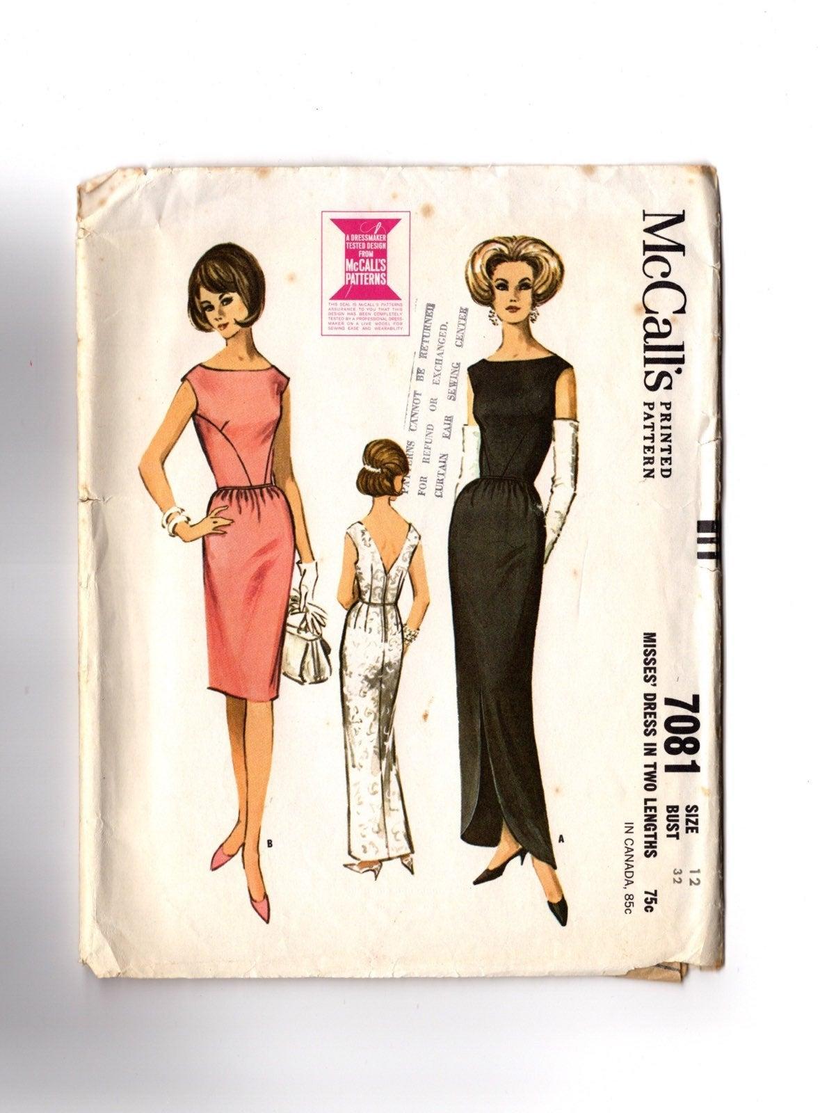 Vintage Pattern Sleeveless Dress