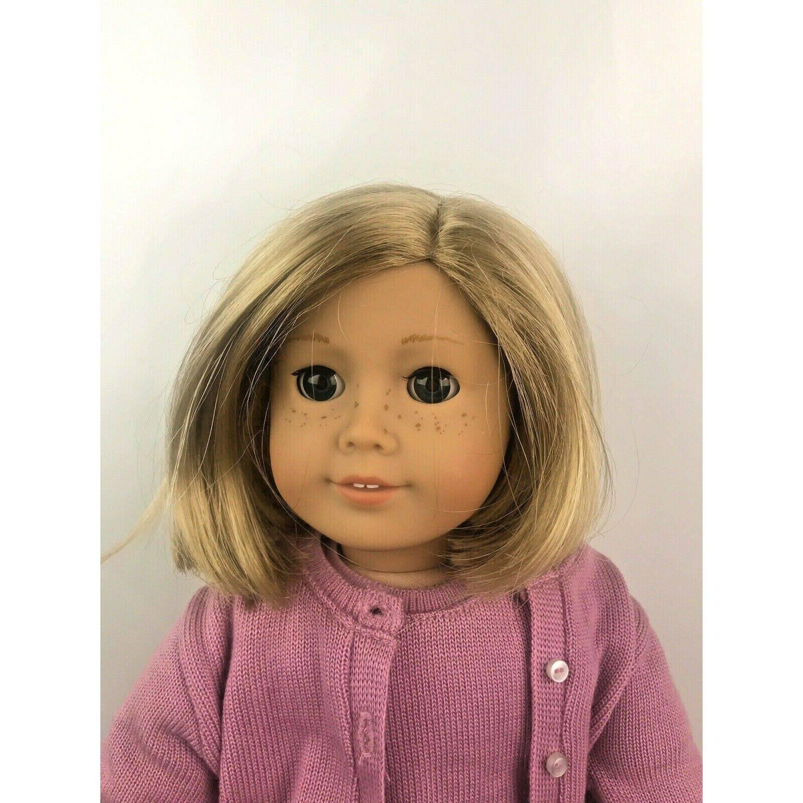 "American Girl Blonde and Blue Eyes 18"""