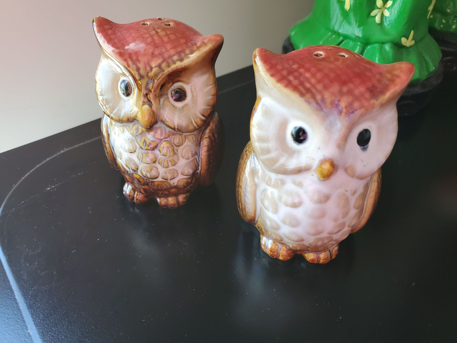 Rustic Owl Shakers