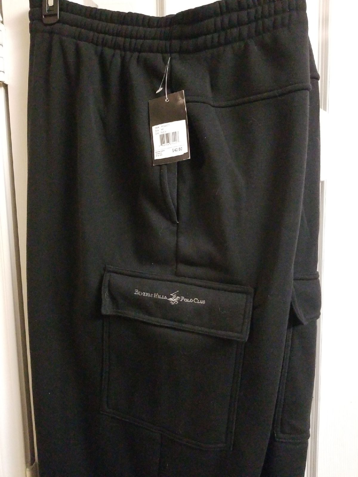 Beverly hills polo club cargo sweatpants