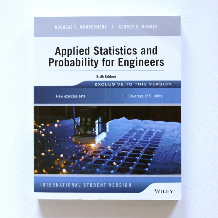 Applied Stat & Probability for Engineers