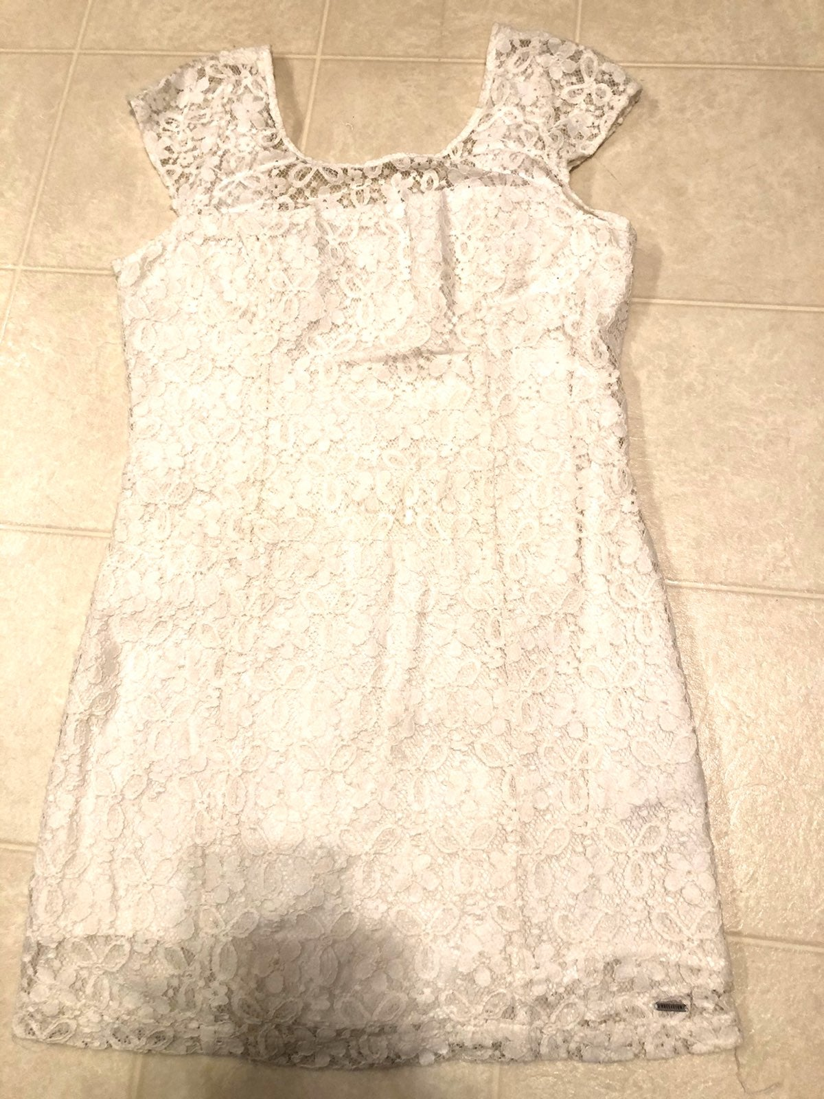 Hollister lace/crochet dress