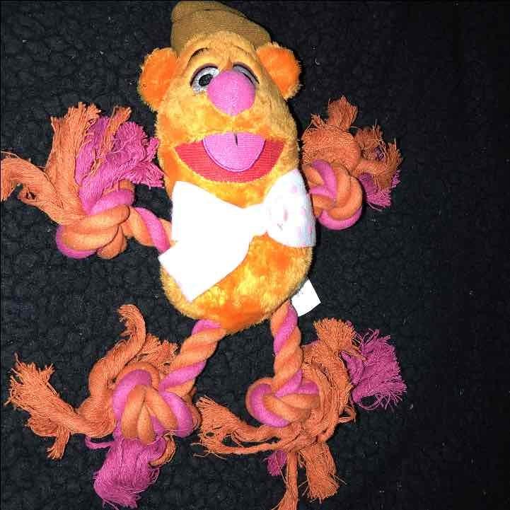 Fozzie Bear Squeak Dog Toy