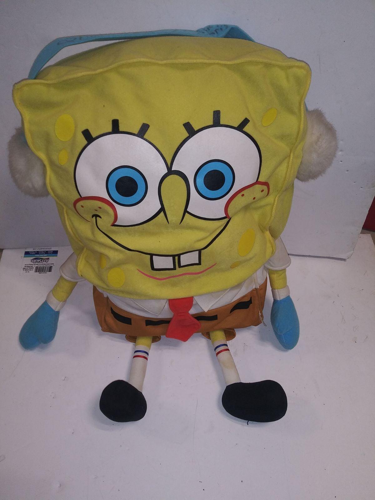 2003 Spongebob SquarePants Earmuffs Larg
