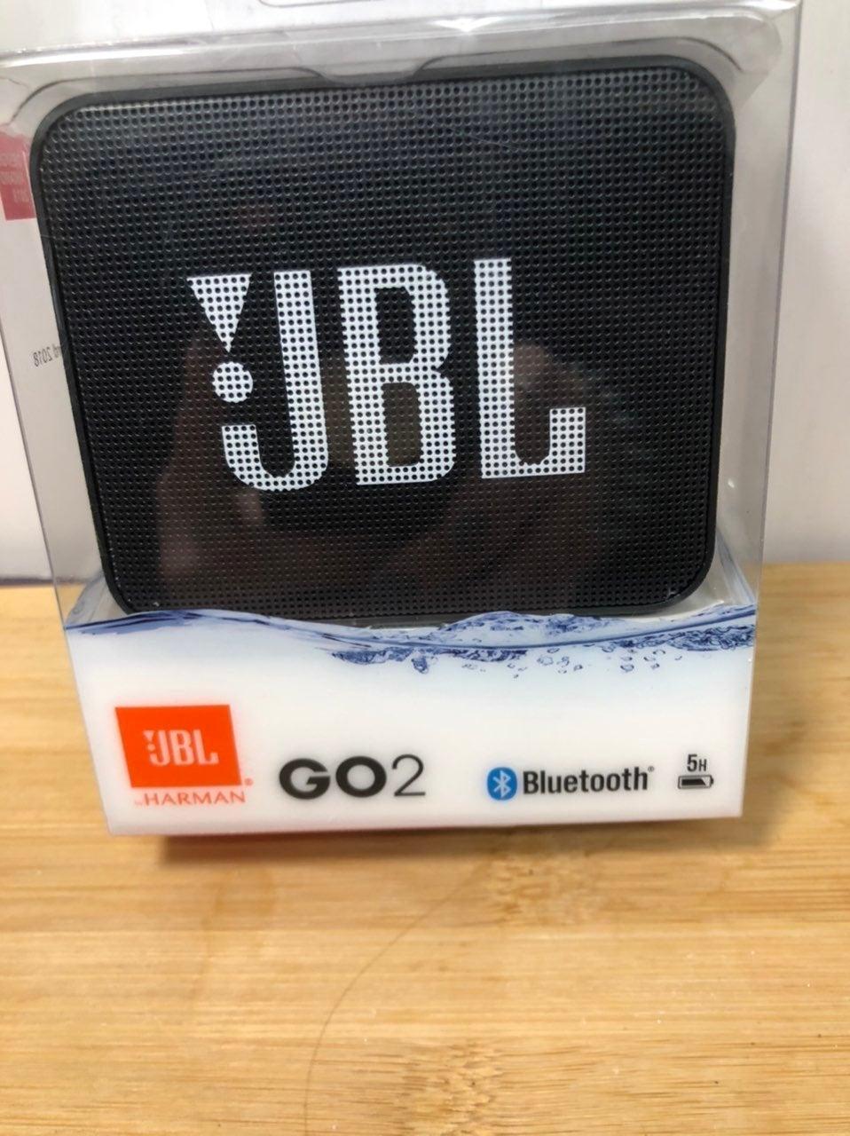 JBL GO 2 black Bluetooth Speaker