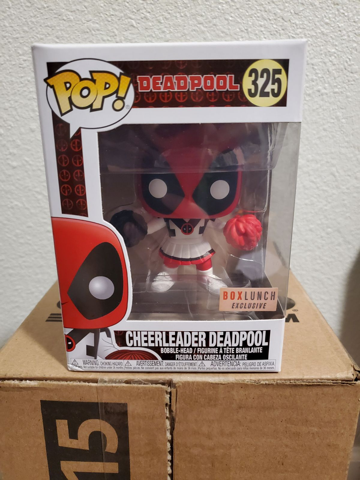 Funko Pop Cheerleader Deadpool