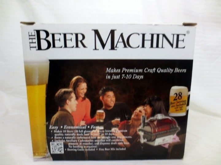 Brew Your Own Beer With A Beer Machine