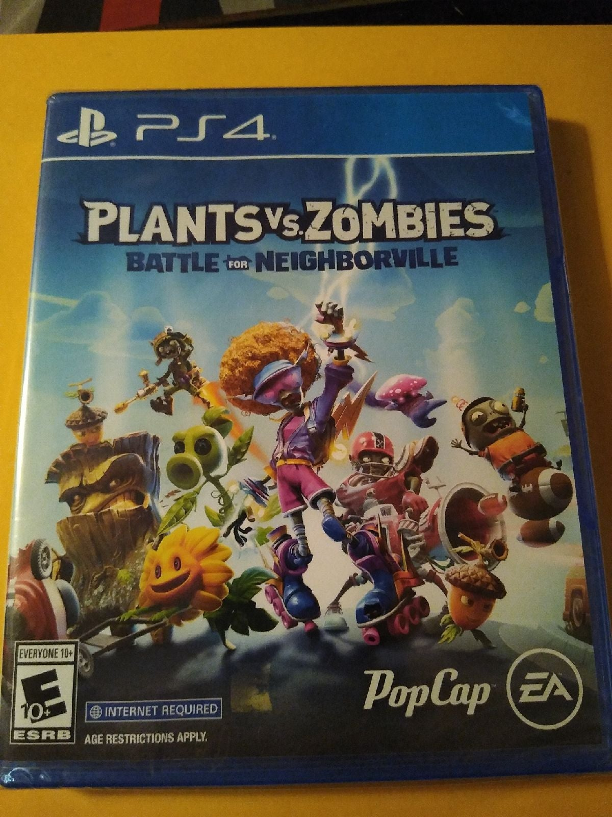 PS4 New Plants vs Zombies Never opened
