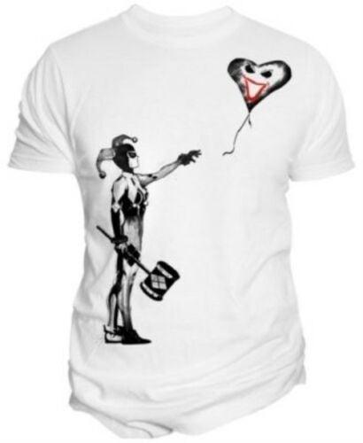 Change Harley Quinn Stencil T-Shirt Whit