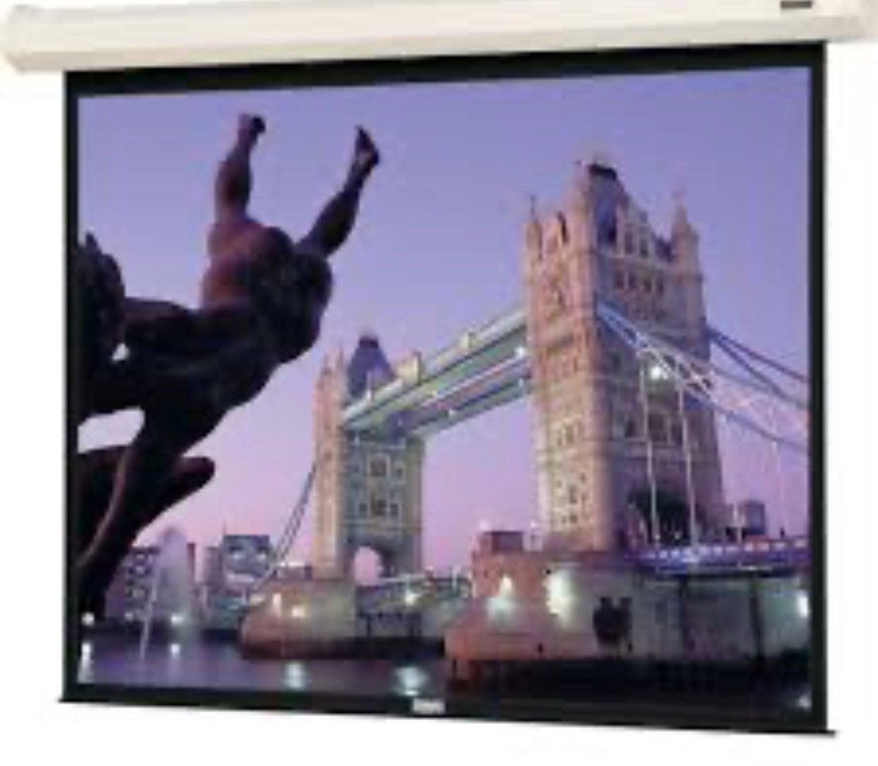 "90"" da-lite electric profesional screen"
