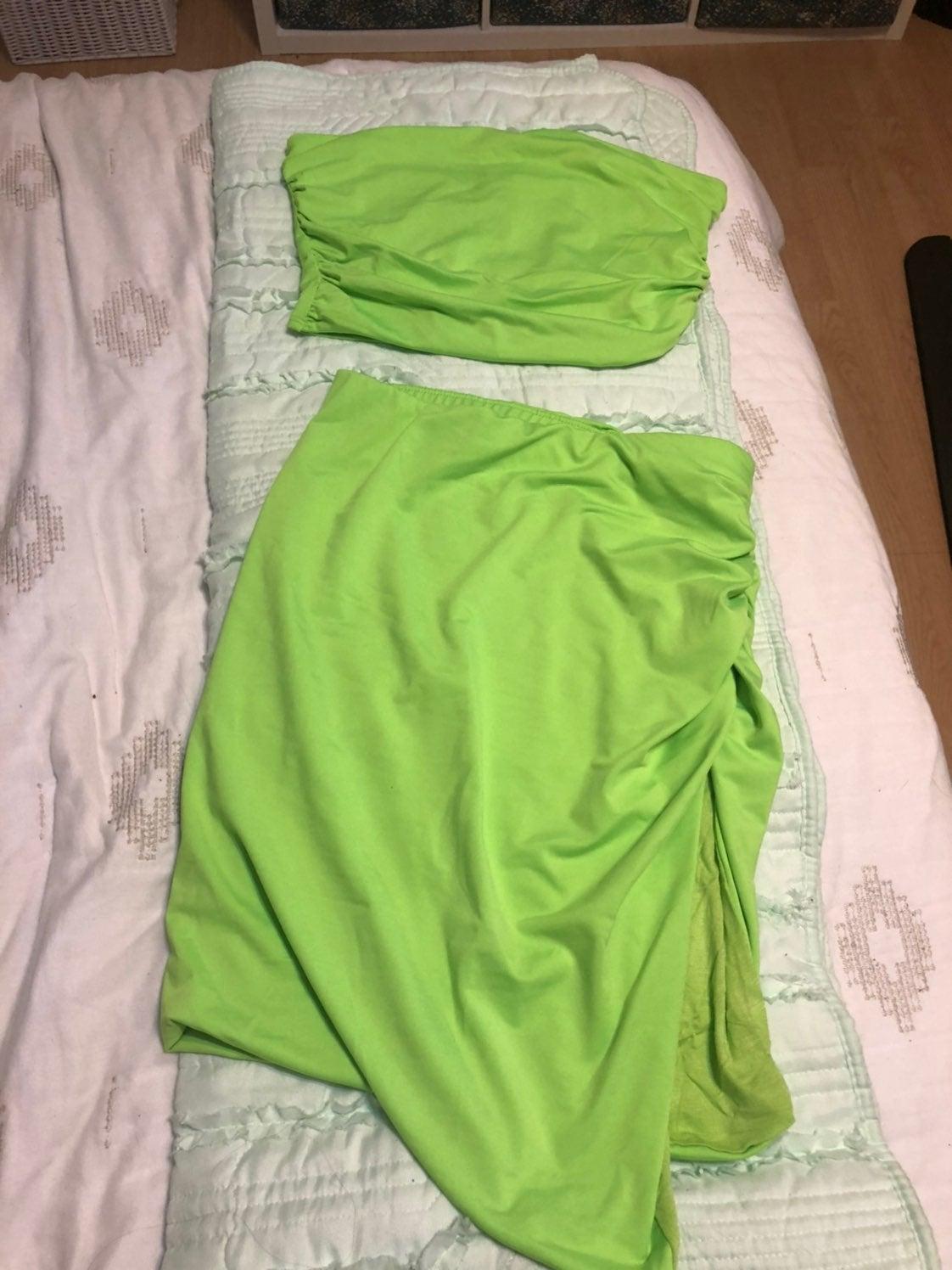 Reserved Fashion Nova skirt set