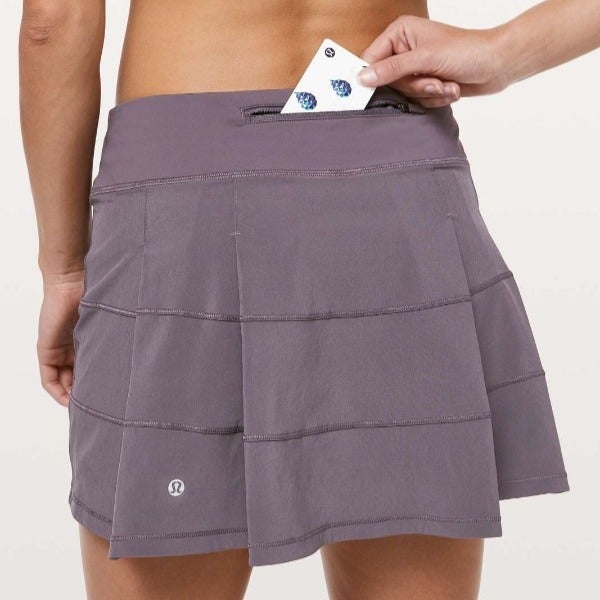 Lululemon 8 Tall Purple Pace Rival skirt