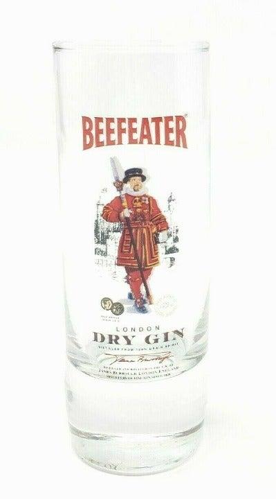 "Beefeater Dry Gin 4"" Tall Shot Glass Bar"