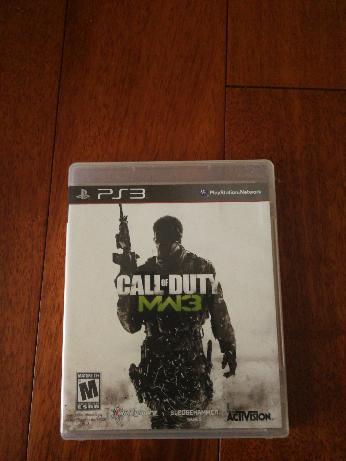ps3 game Call of duty MW3