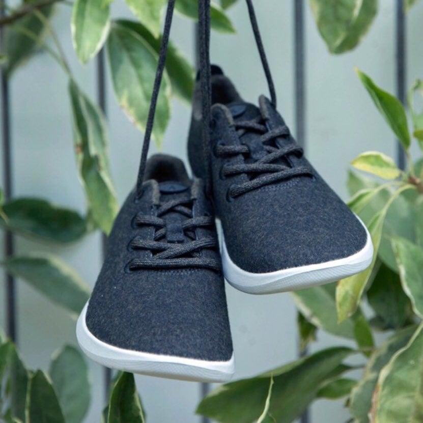 Allbirds Olive Green Wool Tennis Shoes