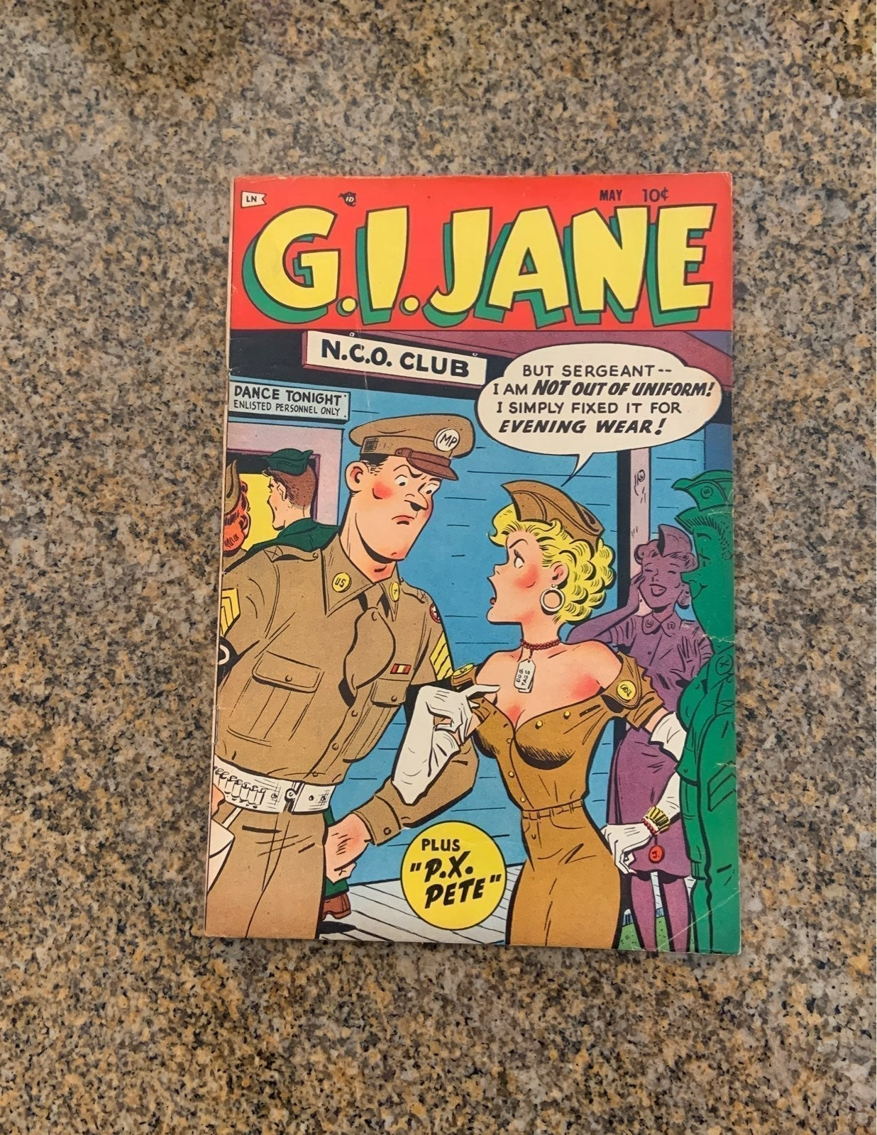 Comic G.I. Jane #7