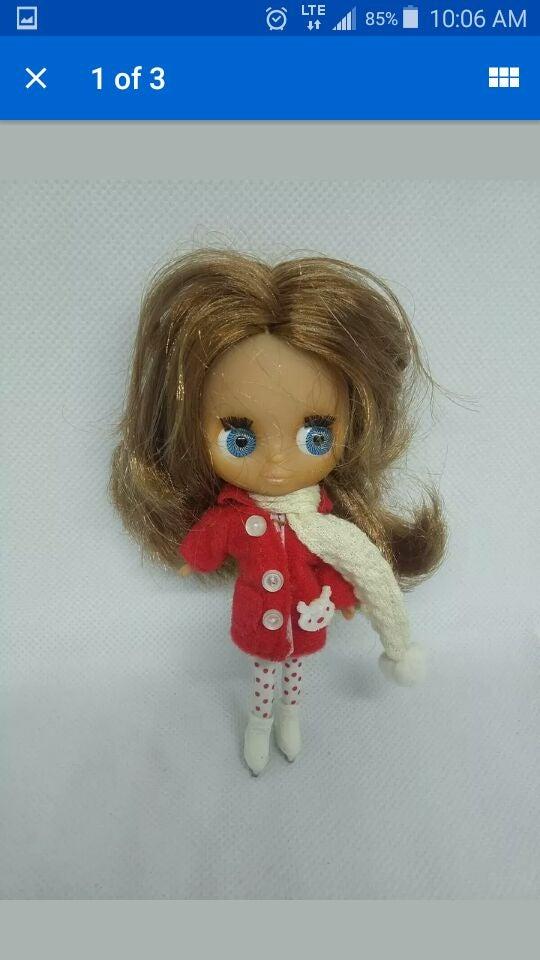 Blythe Doll Figure Littlest pet Shop