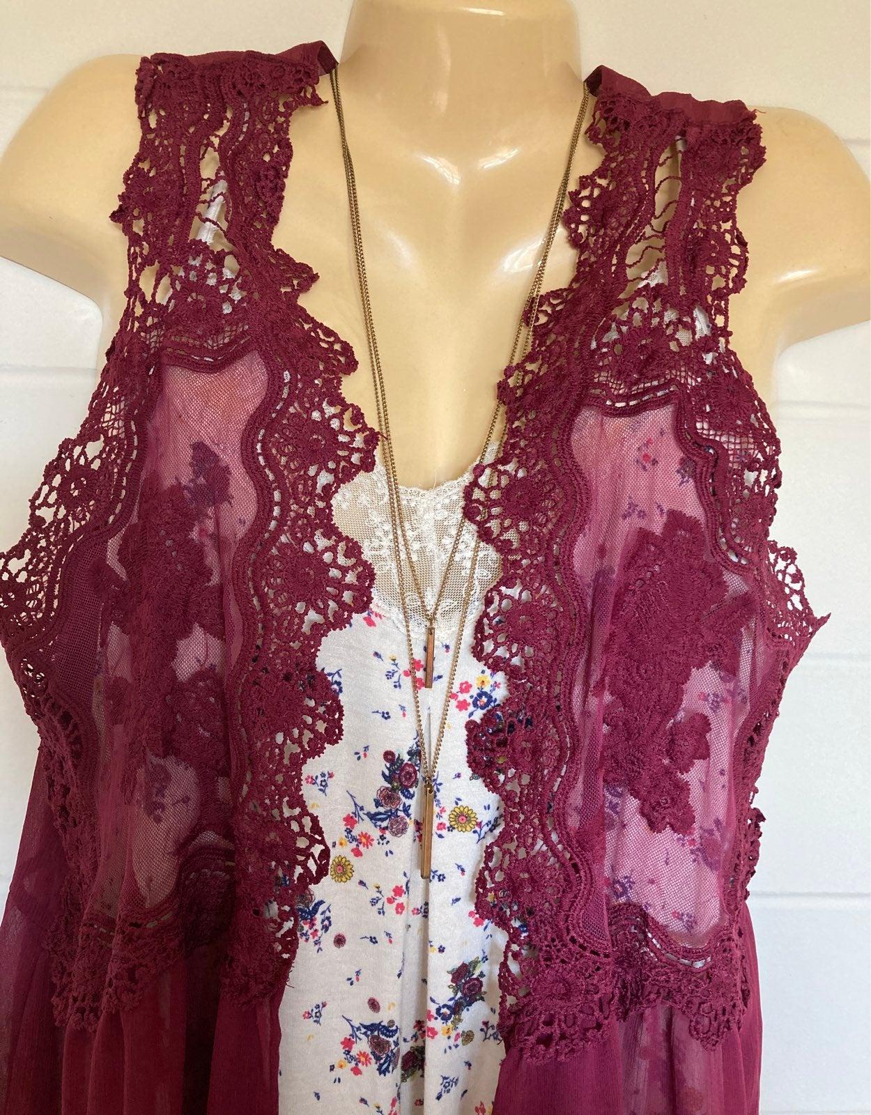 Layered Lace Cami 3 pc. Set XXL