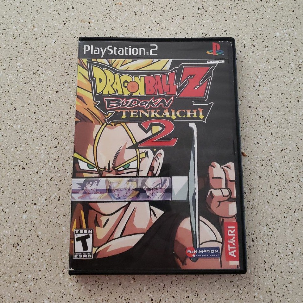 DBZ TENKAICHI 2 (PS2)