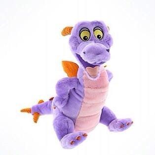 Disney Figment dragon plush