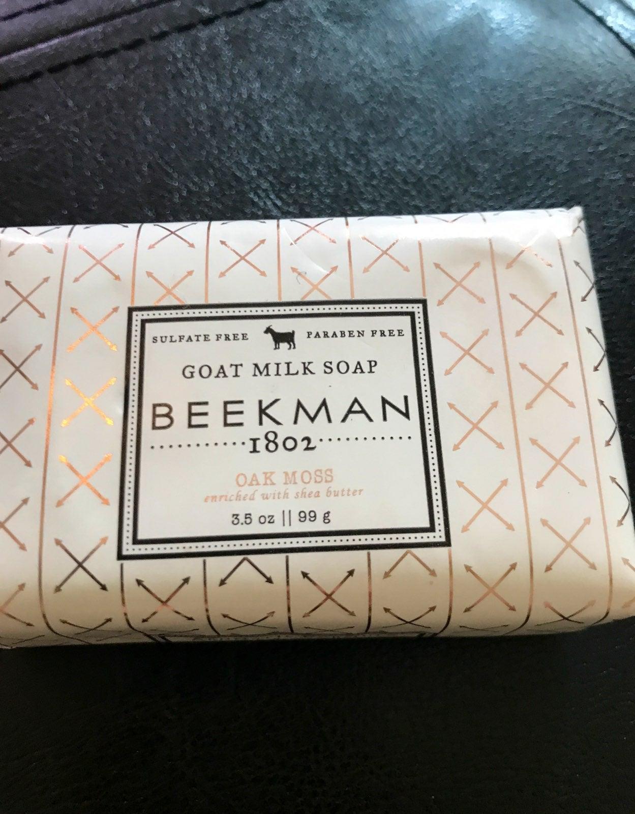 Beekman 1802 Oak Moss Soap