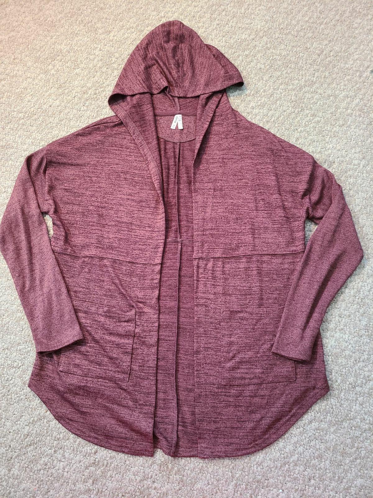 Mudd Sweater Hooded Shirt Juniors Medium