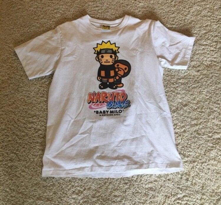 Naruto x Bape Shirt