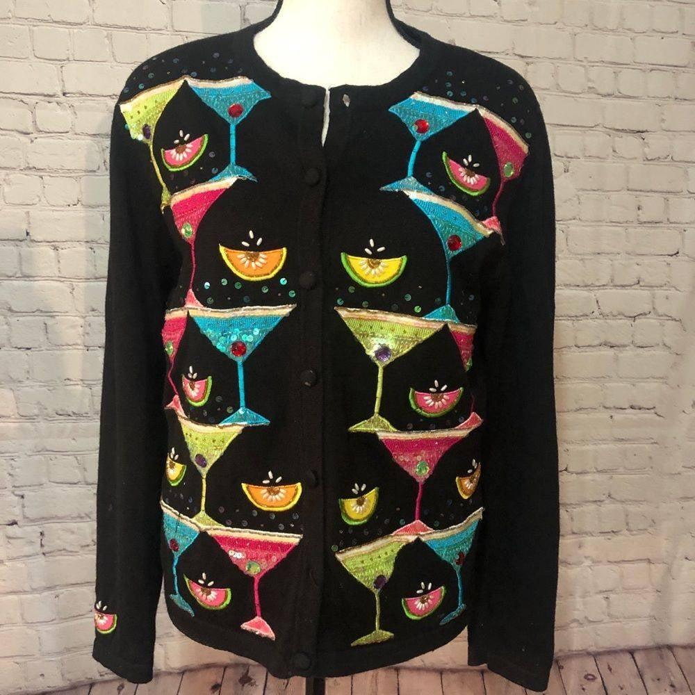 Berek martini embellished sweater