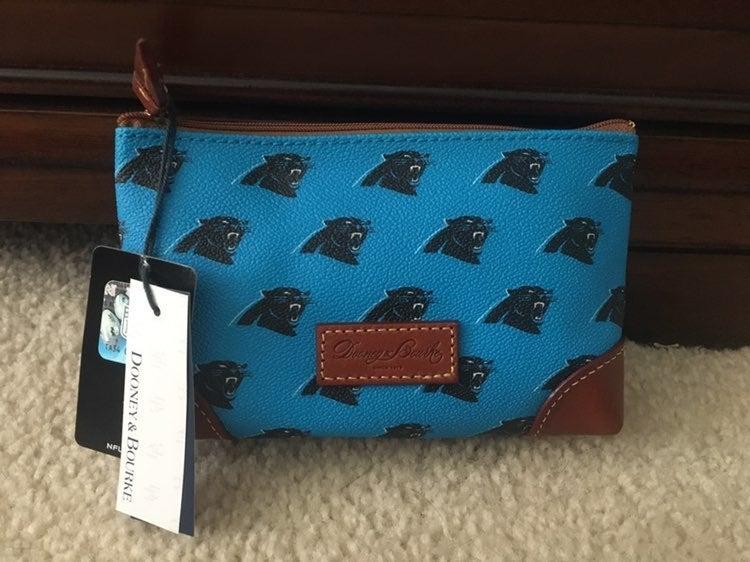 D&B Carolina Panthers Make-Up Bag