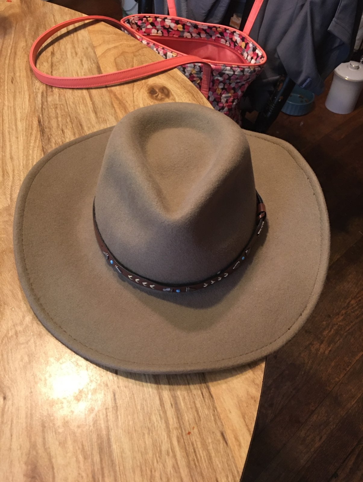 Eddy's bros. Broken arrows felt hat