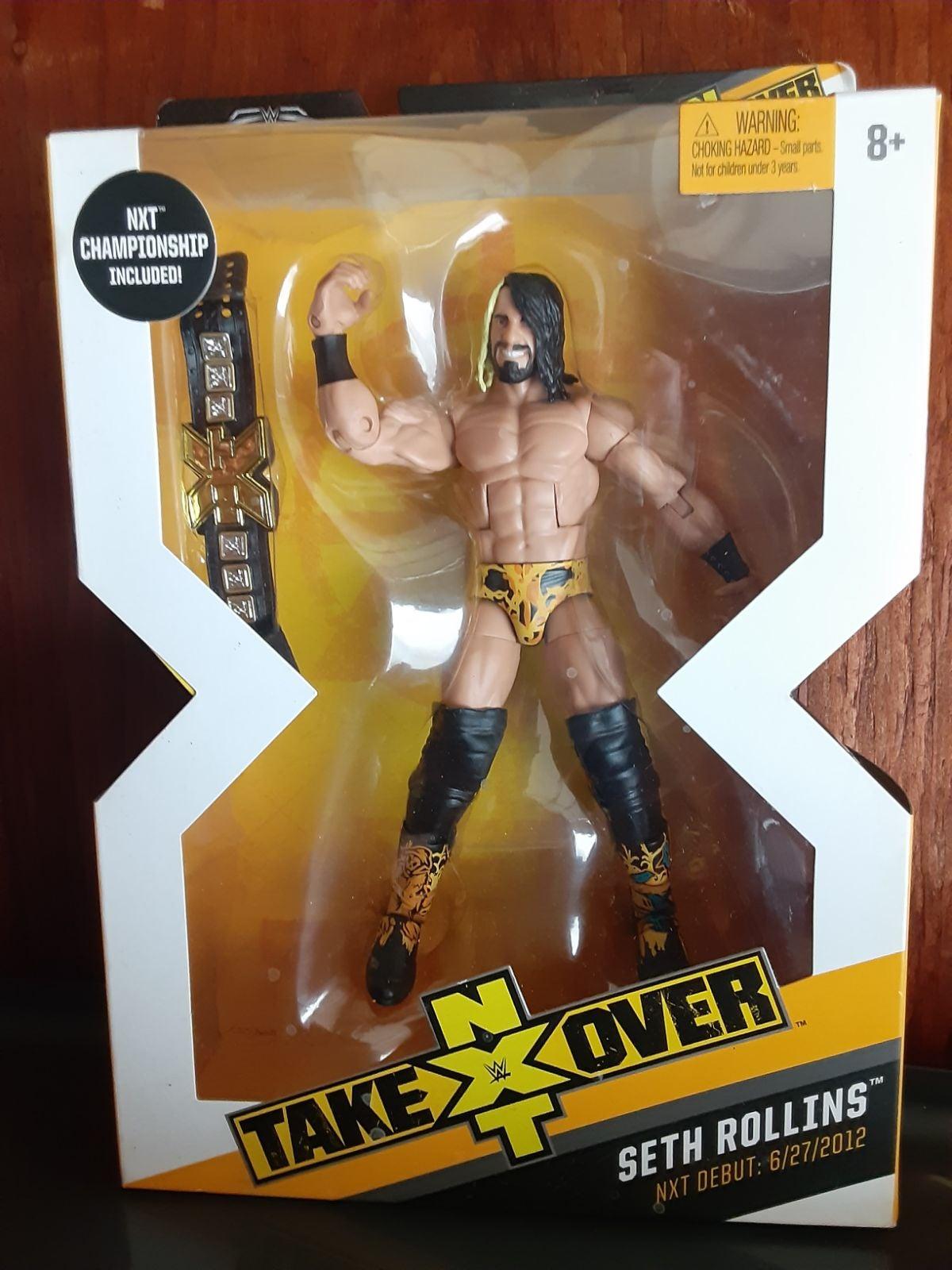 WWE Elite Seth Rollins NXT Takeover