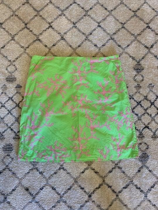 Lilly Pulitzer Women's Green Skirt