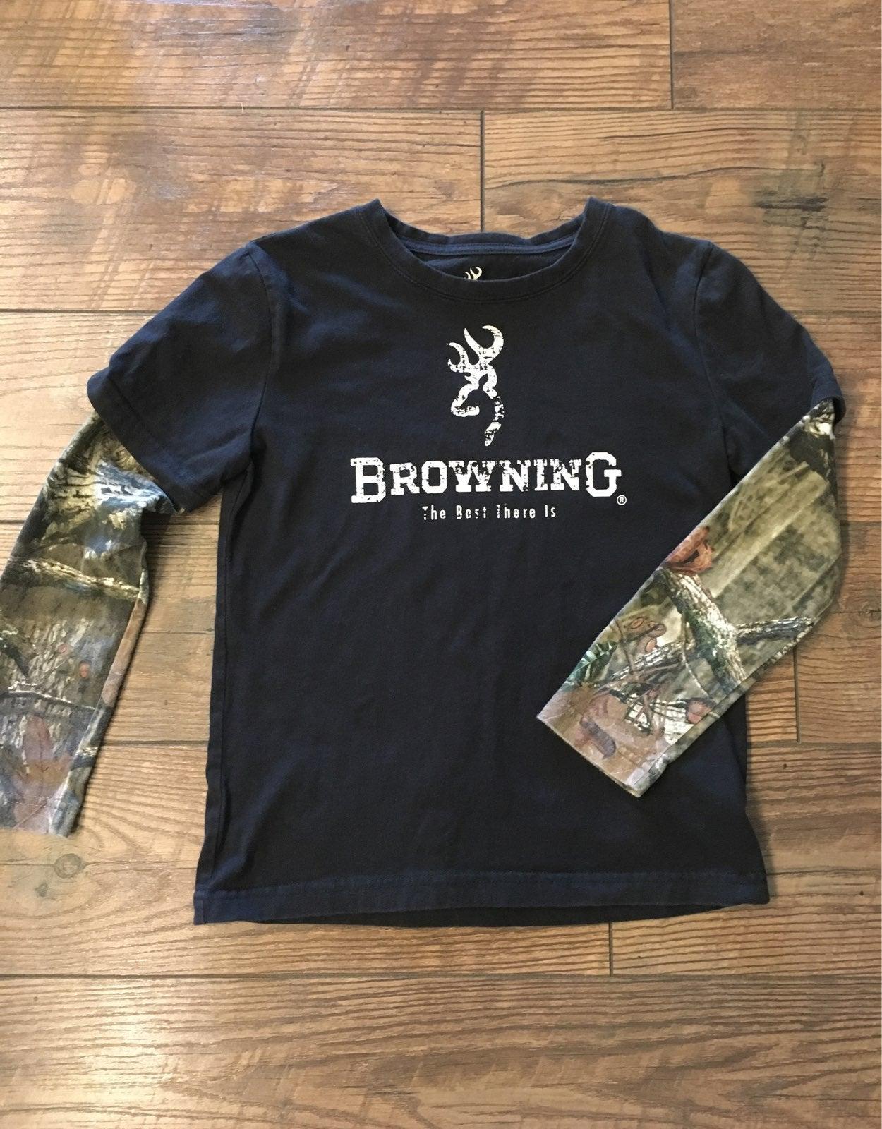 Youth Browning Long Sleeve Shirt