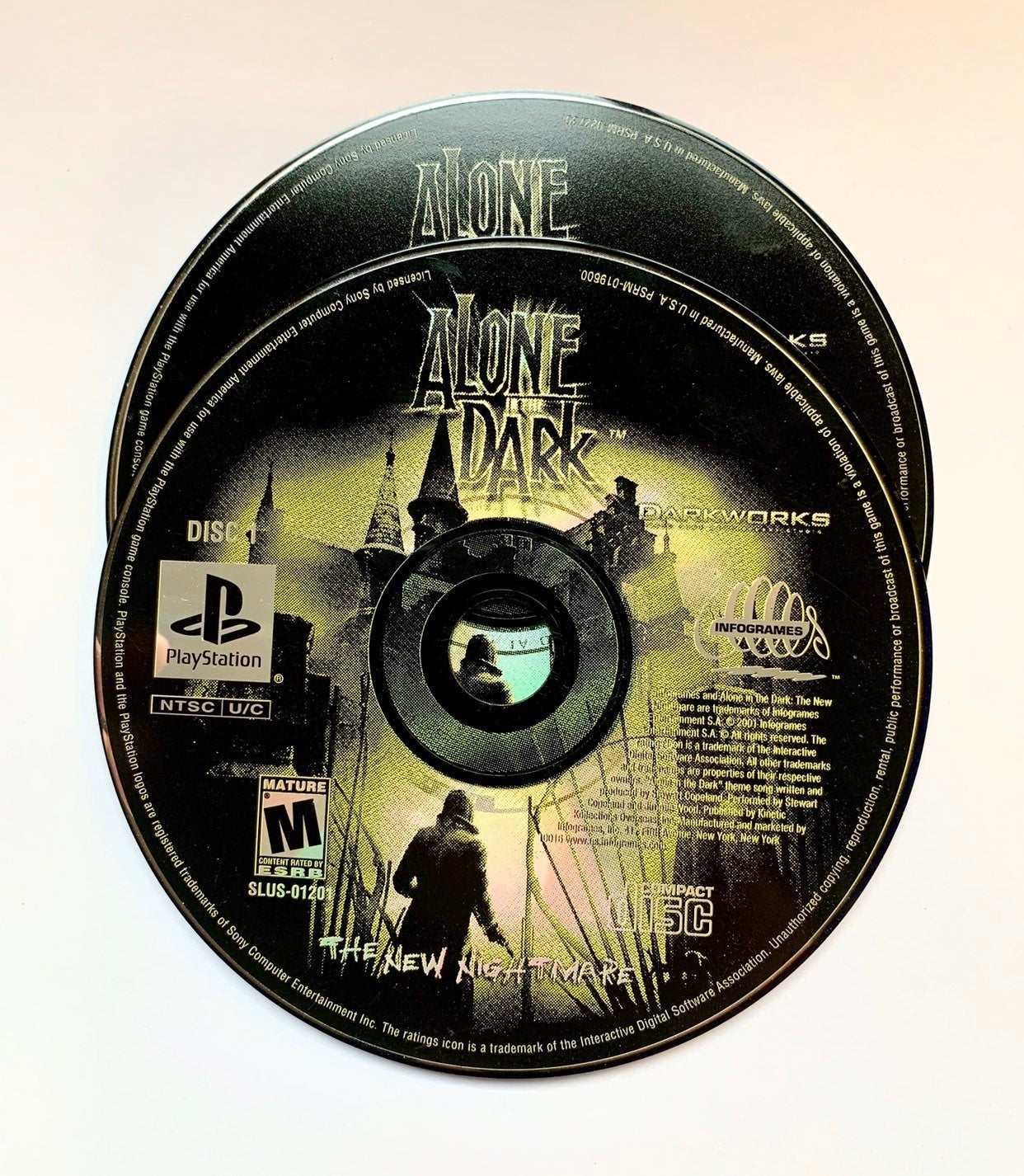 alone in the dark ps1 R1
