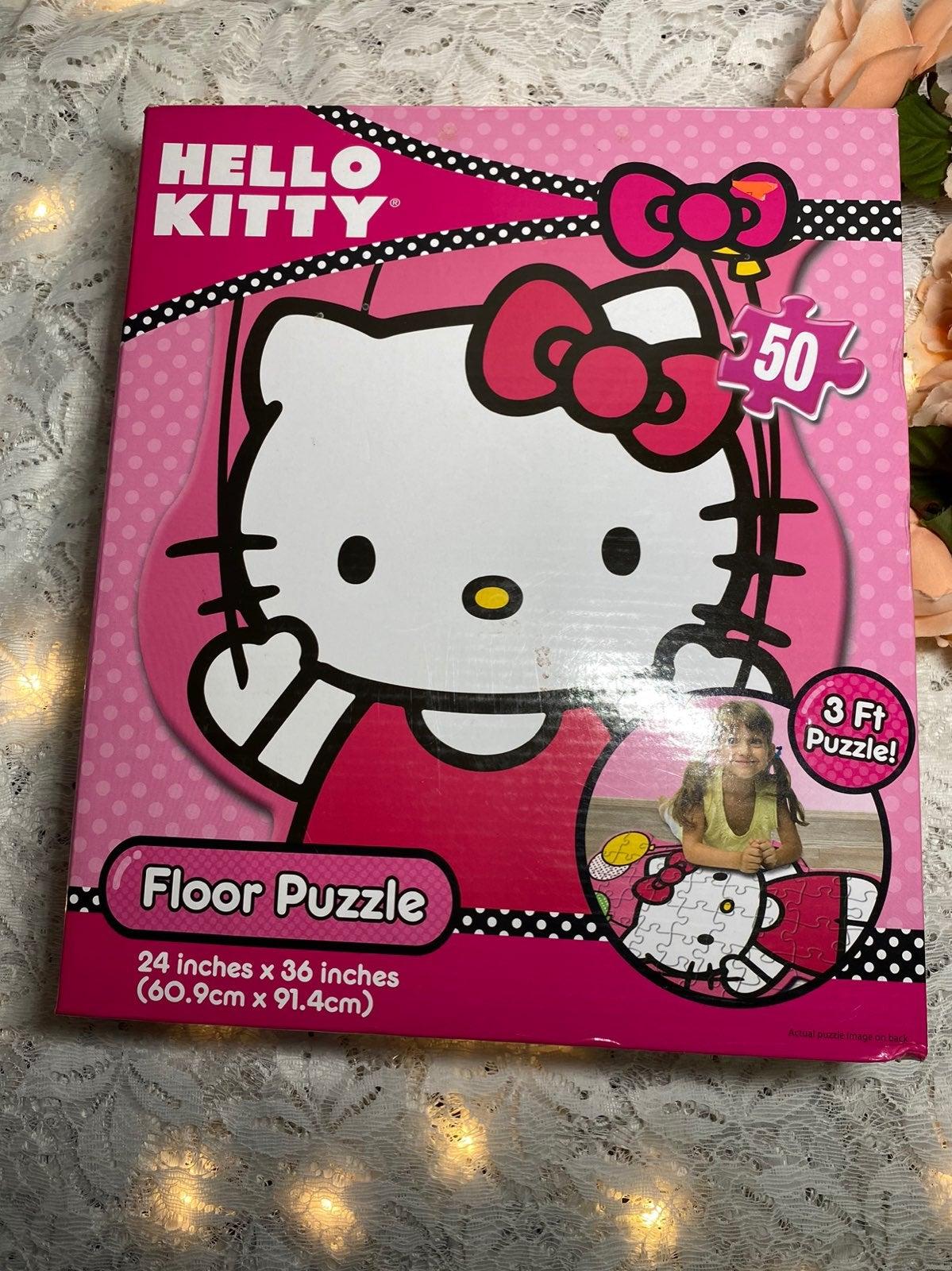 Sanrio Hello Kitty Shaped Floor Puzzle 2