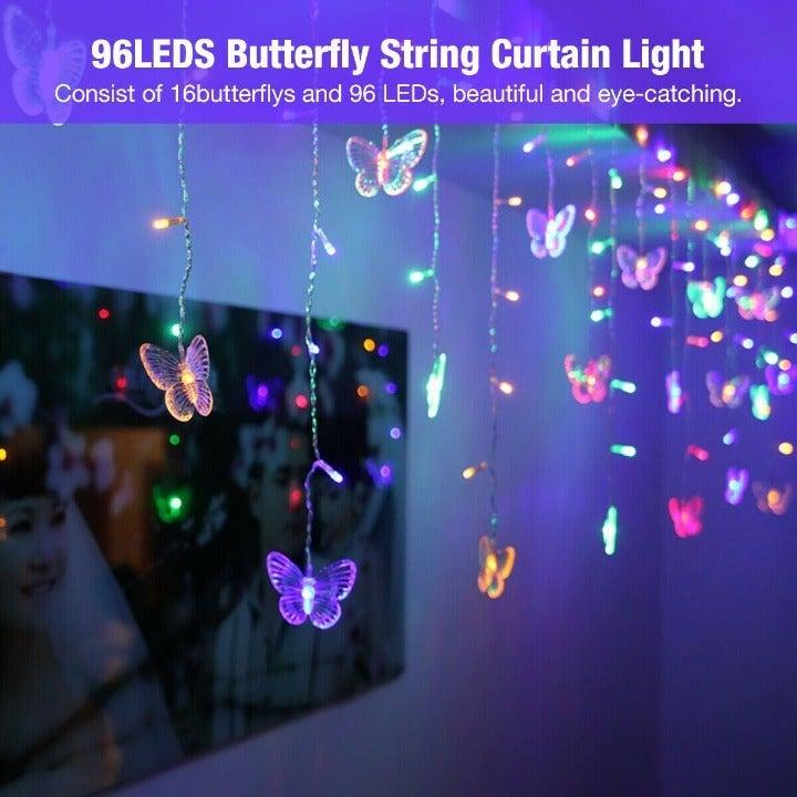 Colorful Remote-control Curtain LEDLight