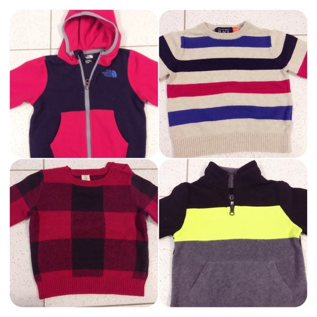 Lot of 12-18m sweaters and 18m pants