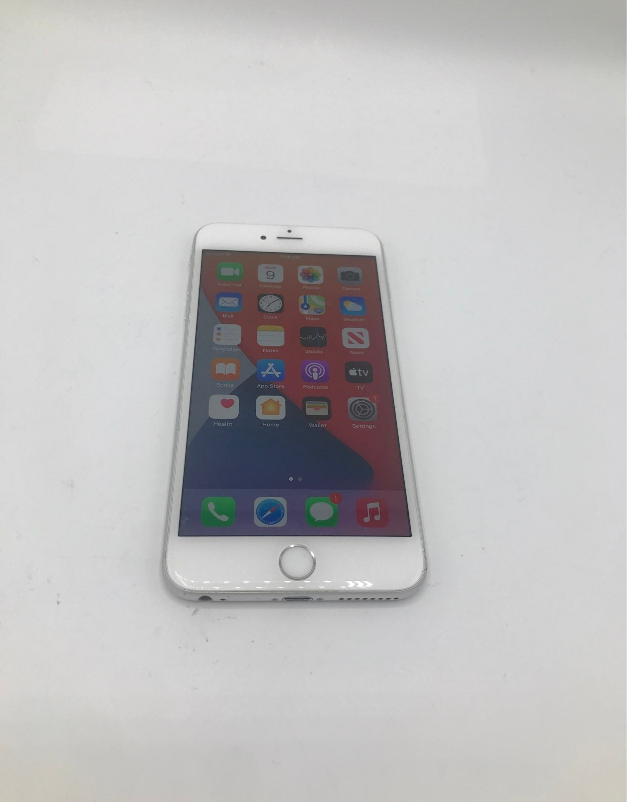 iPhone 6s Plus Silver 128 gigabytes Unlo
